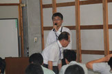 道路課の本田浩一郎チーフの講演