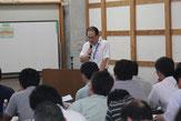 濱田博人副技術委員長の閉会の挨拶