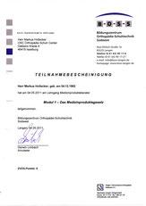 MPG Teilnahme-Zertifikat