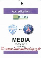 Badge presse Hartberg-PSG  2014-15