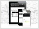 Mobile Zeiterfassung via Handy, Smartphone, Tablet
