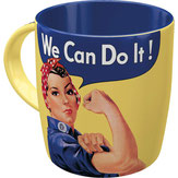 We Can Do It! Retrotasse für Powerfrauen als Geschenk #Frauen #Frauenpower