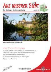 Titelbild einer Ausgabe der Seniorenzeitung