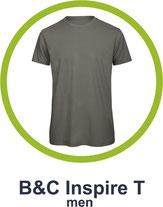 T-Shirt B&C inspire T bedrucken