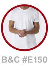 T-Shirt B&C #E150 bedrucken
