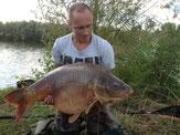 carpe 20 kg étang Verberie