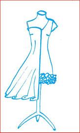Sommerkleider, Hochzeitskleider
