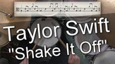 drum tutorial taylor swift shake it off