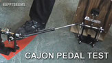 Test, Tipps & Demonstration - Millenium CP-777 Cajon Pedal