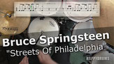 Drums, tutorial, Bruce Sprinsteen, Streets Of Philadelphia