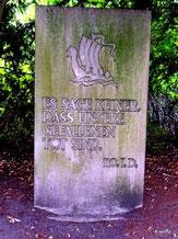 für die Toten der 110. Infanterie-Division