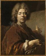 Nicolas de Largillière (1656-1722), autoportrait. Versailles / Photo RMN musée national des châteaux de Versailles et de Trianon