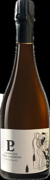 Bouteille de la cuvée Composition, champagne Grand Cru Blanc de blancs | Champagne Launois Paul @ Le-Mesnil-sur-Oger - Côte des Blancs (proche Épernay)