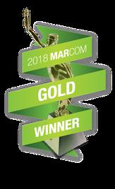 MarCom Award Gold 2018
