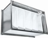 Фильтр карманного типа  для прямоугольных каналов систем вентиляции