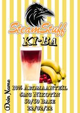 Kultgetränk, Kultgetränke, Kirsch-Bananensaft, KiBa als Aroma, KiBa als Liquid zum Dampfen, KiBa selbst mischen, Kiba kaufen