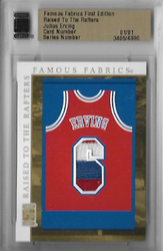 JULIUS ERVING / Raised to the Rafters  (#d 1/1)
