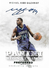MICHAEL KIDD-GILCHRIST / Preferred Signatures - No. 495  (#d 2/5)