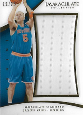 JASON KIDD / Immaculate Standard - No. IS-JK  (#d 10/25)
