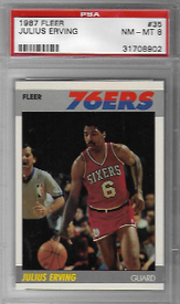 JULIUS ERVING / Base card - No. 35