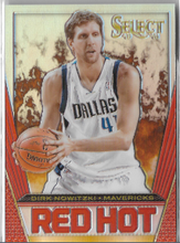 RED HOT PRIZM - No. 37  (#d 12/25)