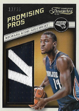 MICHAEL KIDD-GILCHRIST / Promising Pros - No. 15  (#d 17/25)