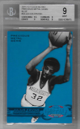 JULIUS ERVING / Precious Metal Gems - No. PM-33  (#d 18/50)