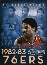 JULIUS ERVING / Timeless Teams - No. 17  (#d 8/10)