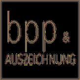 bpp - Auszeichnung