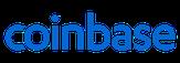 Hier sieht man das Logo von Coinbase