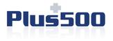 Hier sieht man das Logo von Plus500
