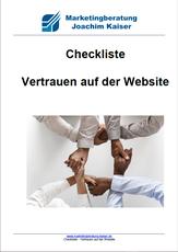 Marketing Checkliste als kostenlosen Download