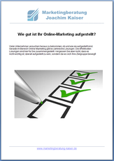 Marketing Checkliste als kostenlosen Download