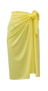 sustainable sarong - yellow