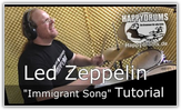 "Drum-Tutorial: Led Zeppelin ""Immigrant Song"""