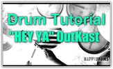 Song-Tutorial, Drums, Oukast, Hey Ya