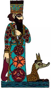 Marduk ou Bel-Marduk ou Baal-Marduk est le dieu de Babylone. Il devient le roi des dieux vers -1000. Il est l'ennemi d'Assour. Sa planète est Jupiter. La fortune de Babylone à partir du règne d'Hammurabi va faire de Marduk l'une des principales divinités.