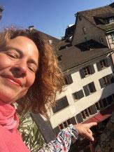 Mimi Pierig, Grafikerin & Clownin, Inhaberin von www.brainheart.ch
