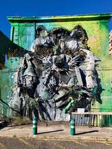 Kunstvoller Zeitgenosse in Santa Maria de Belém