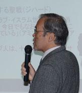 パワーポイントでご説明の岡田先生