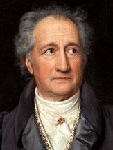 Johann Wolfgang Goethe  (* 1749 – † 1832)