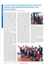 Bericht über die Special Olympics 2018