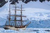Bark Europa, Antarktis