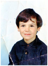 Author Cliff McNish as a child