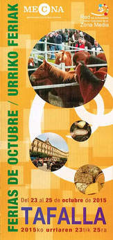 Ferias de Octubre en Tafalla