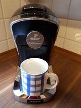 Haus 39 mit Kapselkaffeemaschine