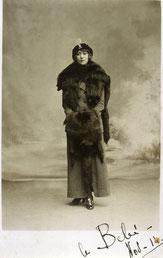 Yvonne Daudy, épouse de Louis Chadourne, en novembre 1914