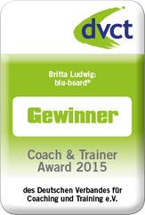 Britta Ludwig gewinnt den Coach & Trainer Award 2015