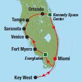 Florida Rundreise zum Sparpreis 1 Wo ab 638,-€ DZ/Frühstück und Rundreise ab/bis Miami Florida