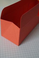 Anleitung dreieckige Verpackung